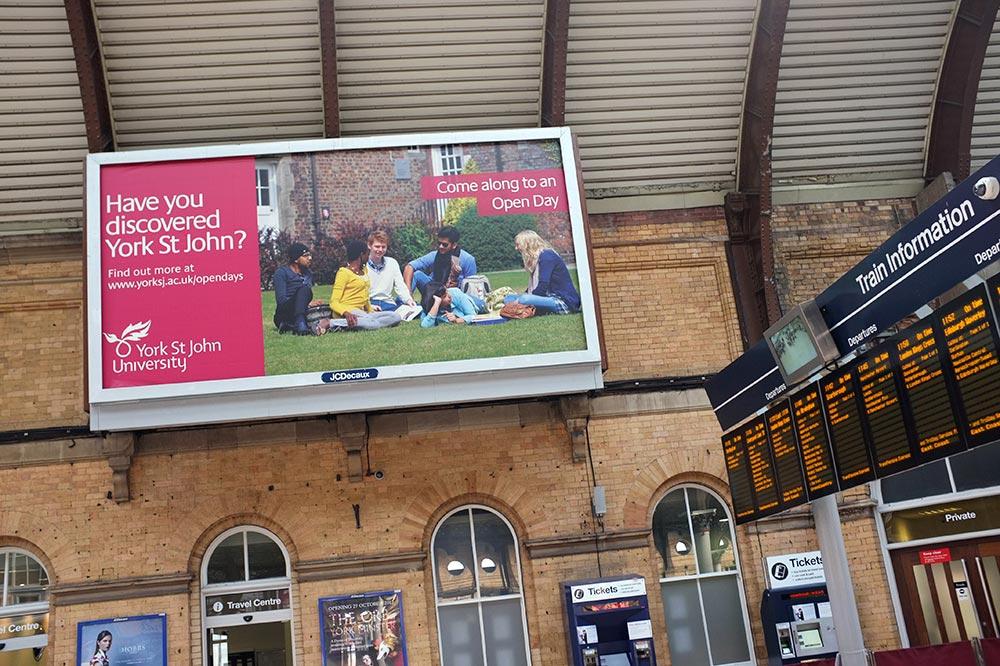 York St John University poster