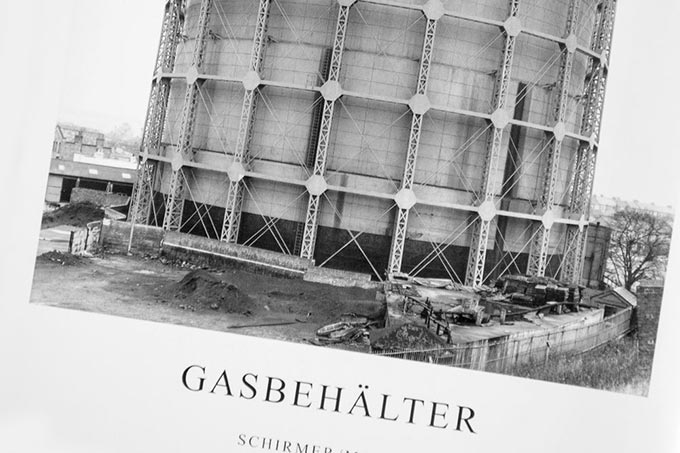 Gasbehälter (Gasholder) by Bernd and Hilla Becher