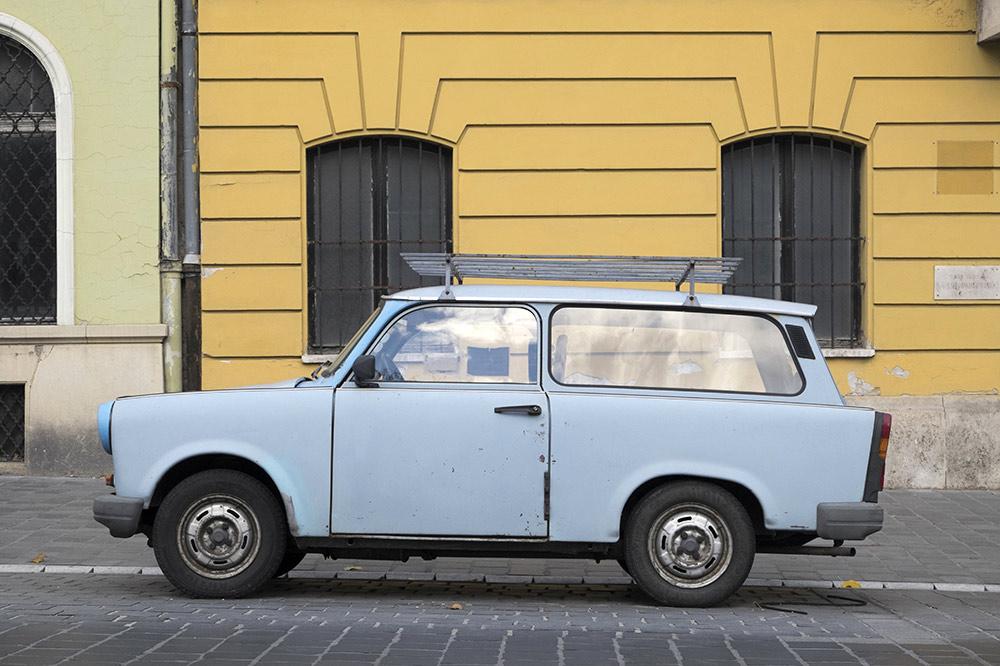 Budapest communist cars